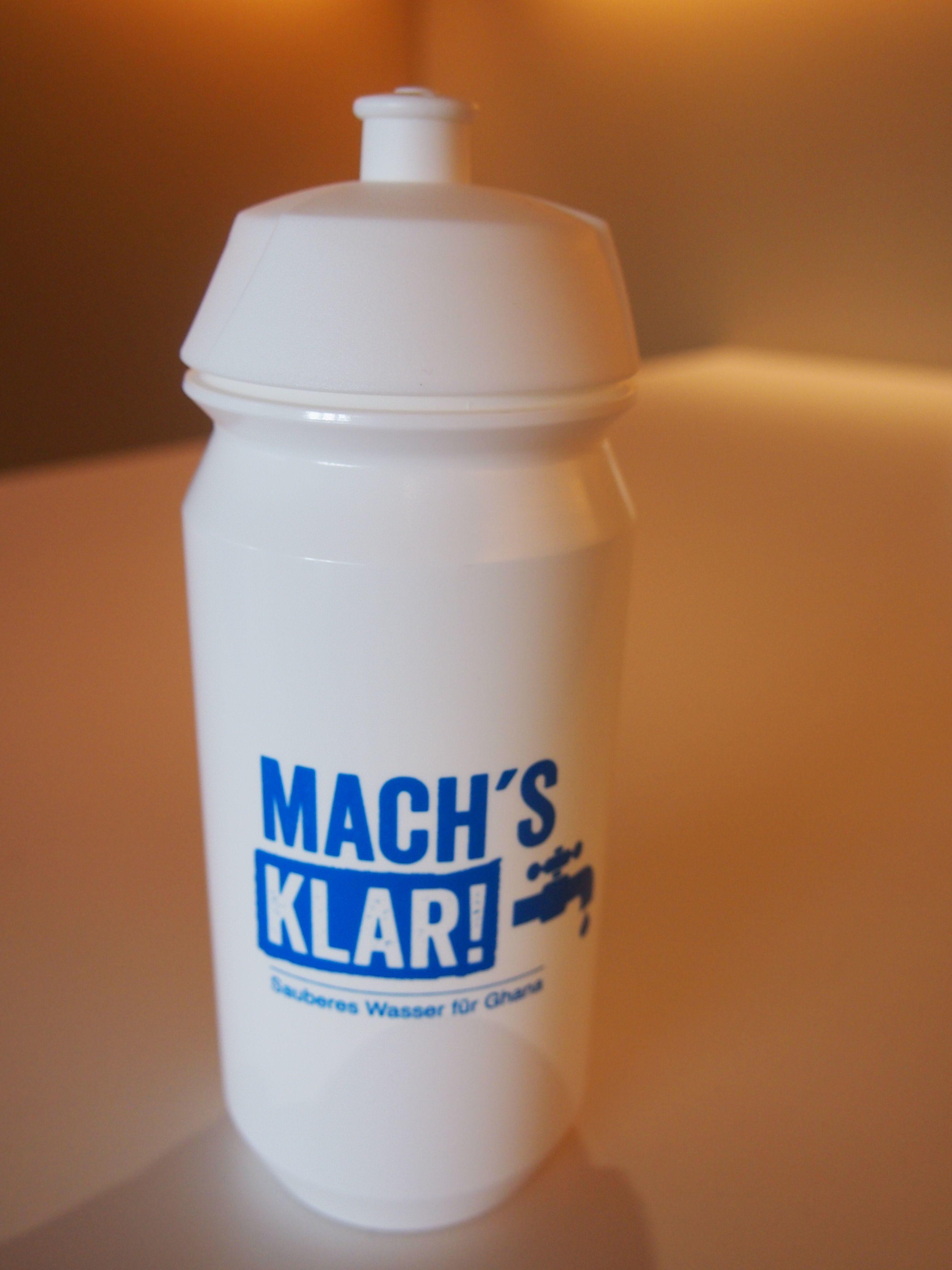 Mach's klar! Trinkflasche