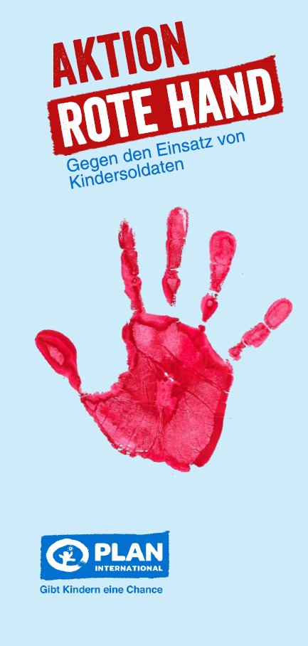 "Faltblatt ""Aktion Rote Hand"""