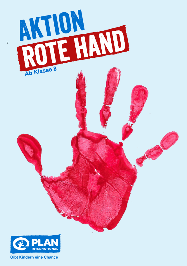 Aktion Rote Hand – Unterrichtsmaterial