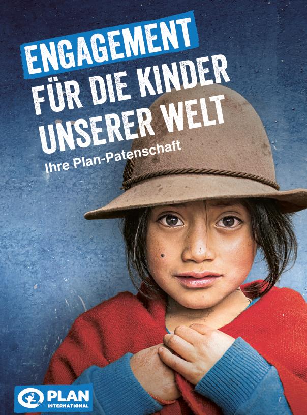 """Broschüre """"Engagement für die Kinder unserer Welt"""""""